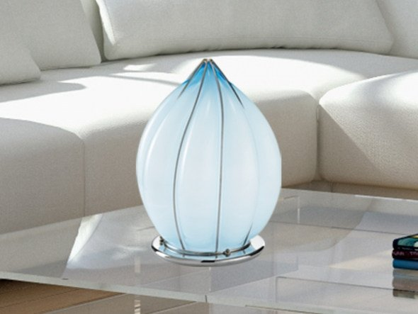 Murano glass table lamp POZZO MT 119 by Siru