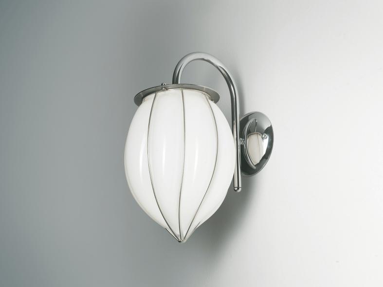 Murano glass wall lamp POZZO RB 119 by Siru