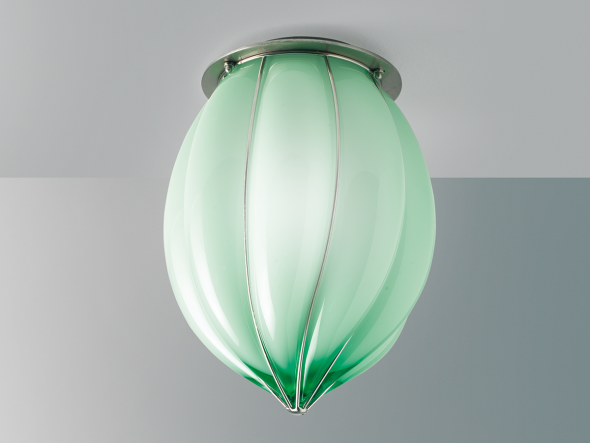 Murano glass ceiling lamp POZZO RC 119 by Siru