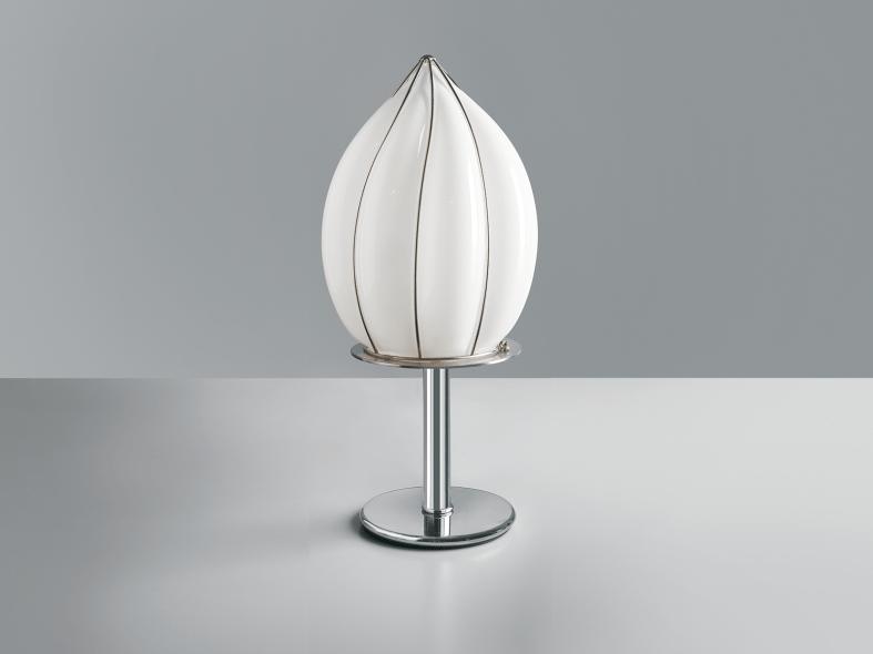 Murano glass table lamp POZZO RT 119 by Siru