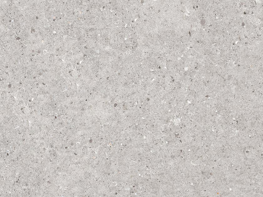 Porcelain stoneware wall/floor tiles with concrete effect PRADA ACERO by PORCELANOSA