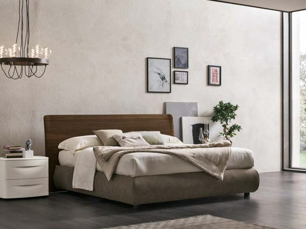 Upholstered storage bed double bed PRADO | Storage bed by Gruppo Tomasella