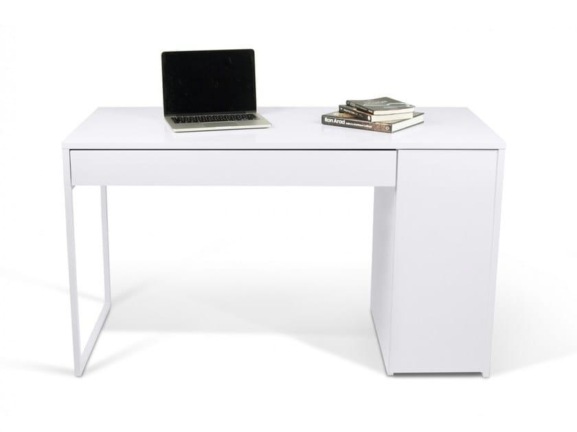 Rectangular writing desk with drawers PRADO by TemaHome
