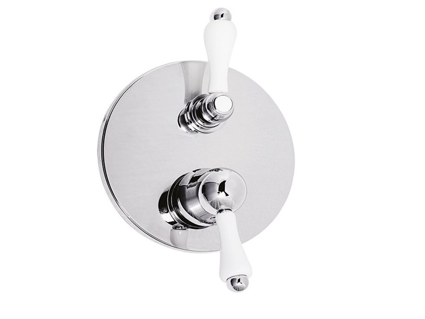 Shower tap with diverter PRAGAMIX - PRAGAMIX CRYSTAL - F7511-3 by Rubinetteria Giulini