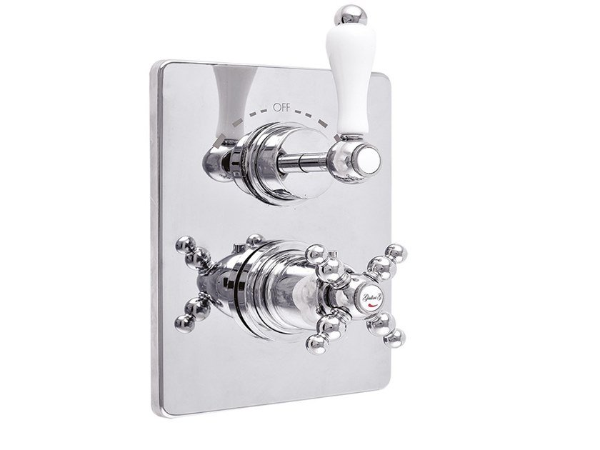 2 hole thermostatic shower tap PRAGAMIX - PRAGAMIX CRYSTAL - F8212-PR by Rubinetteria Giulini