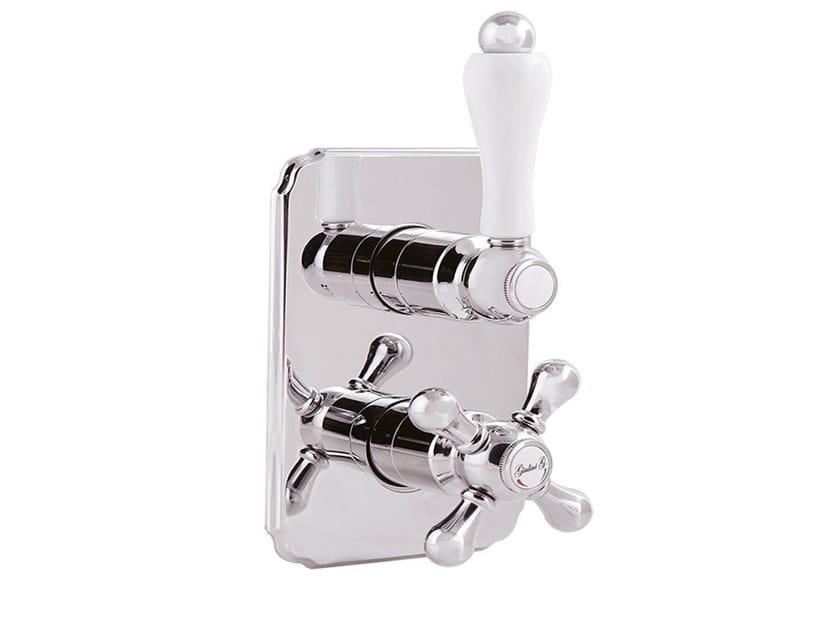 2 hole thermostatic shower tap PRAGAMIX - PRAGAMIX CRYSTAL - F8283-PR by Rubinetteria Giulini