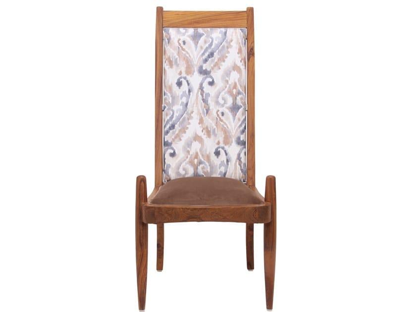 High-back fabric chair PRANSHU   Fabric chair by ALANKARAM