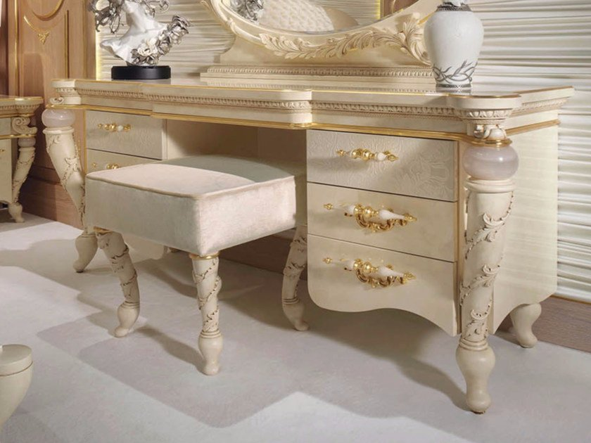 Wooden dressing table PRESTIGE | Dressing table by Turri
