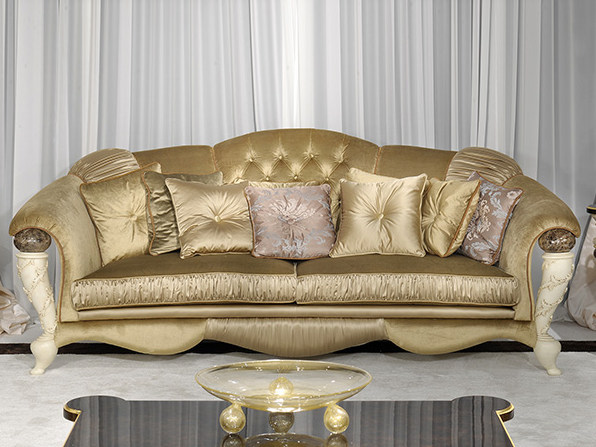 3 seater fabric leisure sofa PRESTIGE | Sofa by Turri