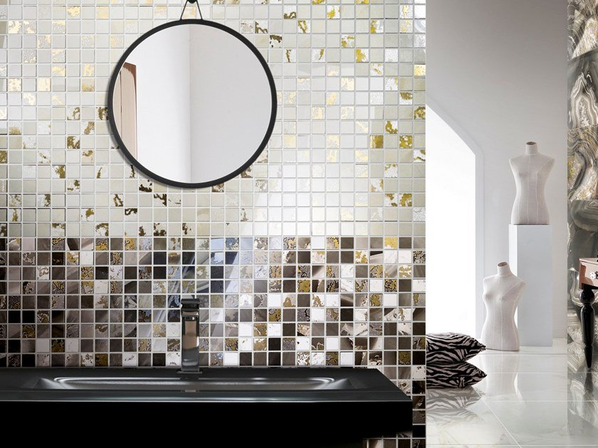 Porcelain stoneware mosaic PREZIOSA LEGEND | Mosaic by CERAMICHE BRENNERO