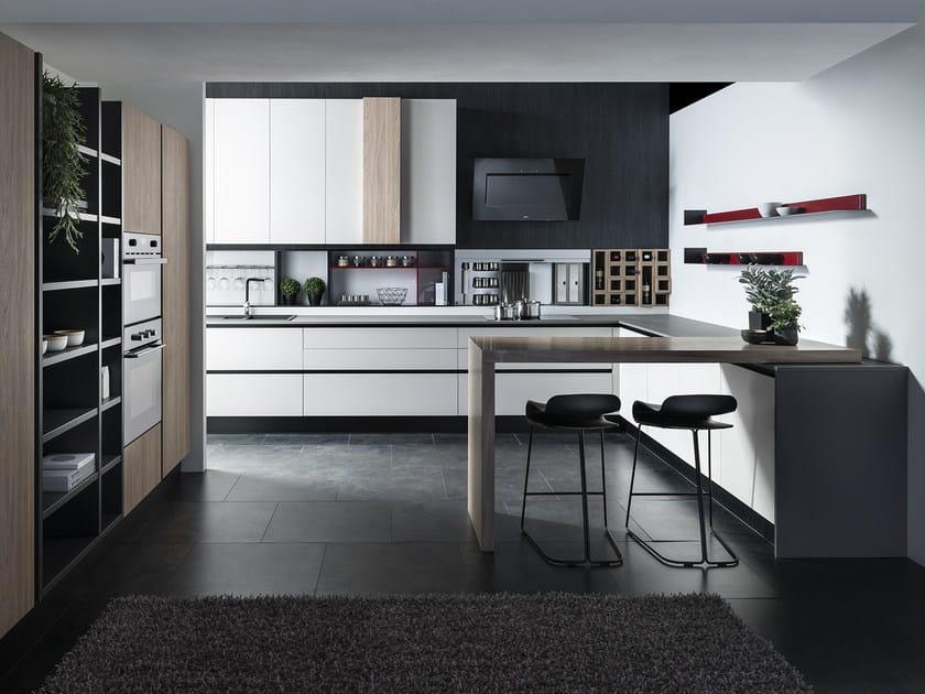 PRIMA | Küche mit Kücheninsel Kollektion Prima By Floritelli Cucine