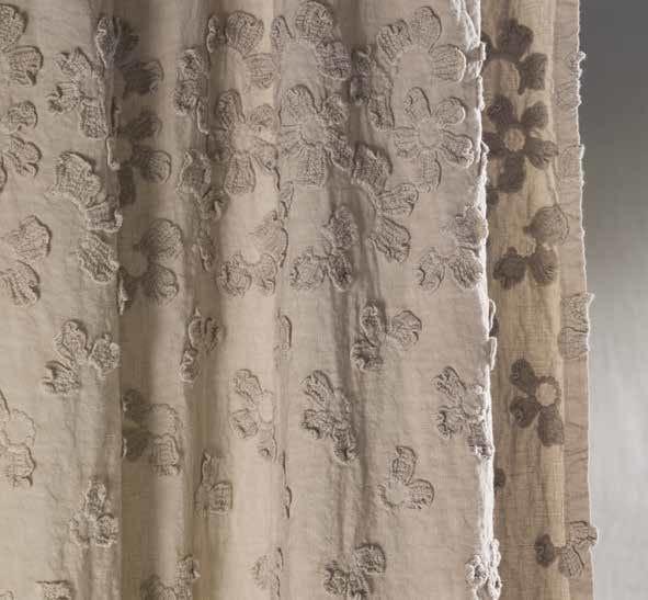 PRIMULA | Tenda a bastone Collezione Decor By LA FABBRICA DEL LINO