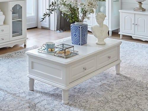 Tavolino rettangolare in legno PRINCESS   Tavolino rettangolare by Arrediorg.it®