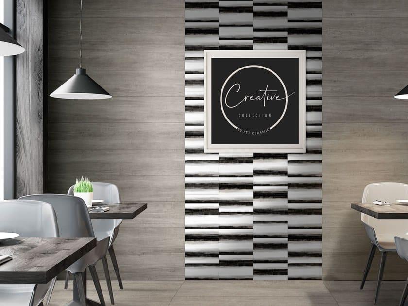 White-paste wall tiles PRINT by ITT Ceramic
