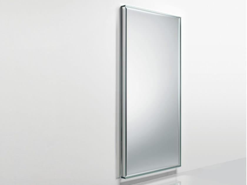 Espelho retangular moldurado de parede PRISM MIRROR SPECCHI by Glas Italia