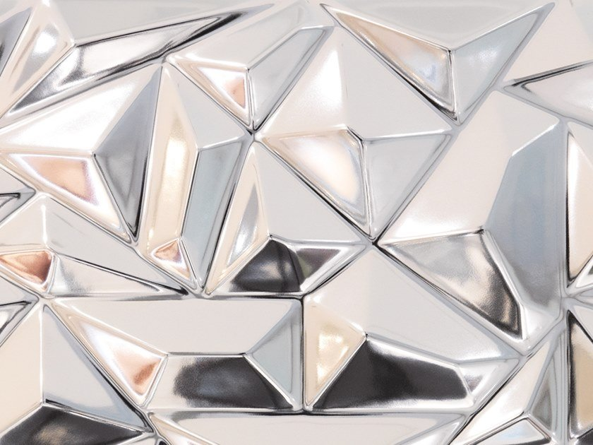 3D Wall Cladding PRISMA SILVER by Venis