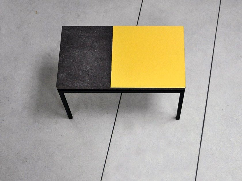 Lava stone side table PRISME | Coffee table by Made a Mano