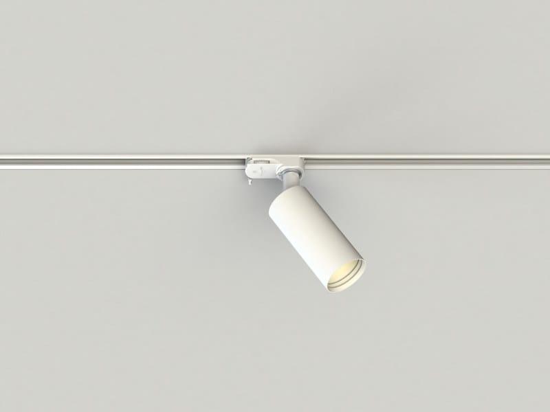 Lámpara en carril de aluminio extrudado PRO IN 55 B by LUCIFERO'S