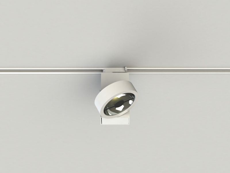 Extruded aluminium Track-Light PRO IN QR-LP111V by LUCIFERO'S