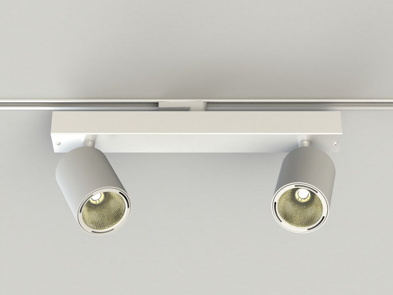 LED Track-Light with dimmer PRO IN SPOTS by LUCIFERO'S
