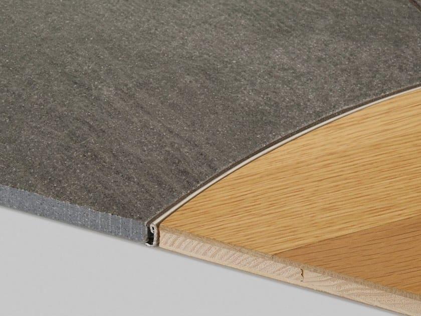 Metal flooring profile PROANGLE FLEX by PROFILPAS