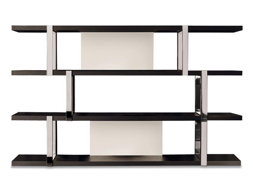 Bookcase DALTON CHROME by Minotti