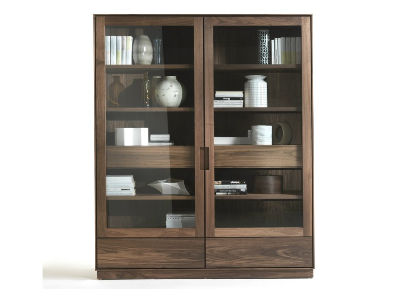 Solid wood display cabinet COLONIA 2013 by Riva 1920