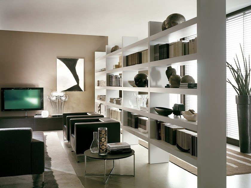Double-sided divider bookcase LALTROGIORNO 811 by TUMIDEI