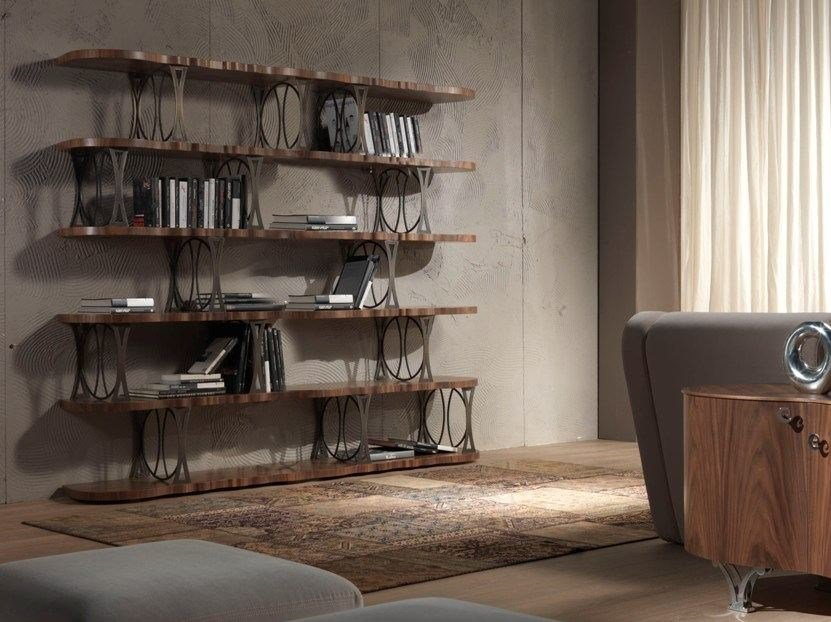 Open freestanding wooden bookcase CARPANELLI CONTEMPORARY 2013 | Bookcase by Carpanelli Contemporary