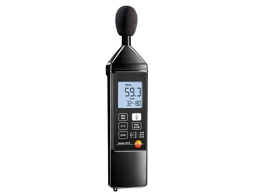 Sound meter TESTO 815 by Testo