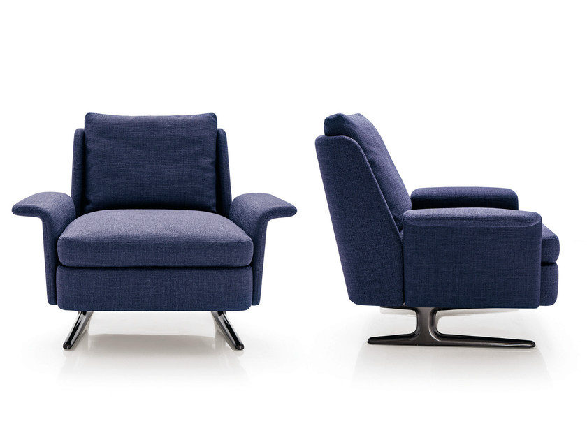 Beau Armchair SPENCER | Armchair By Minotti