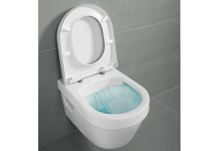 Wall-hung rimless toilet ARCHITECTURA DirectFlush by Villeroy & Boch