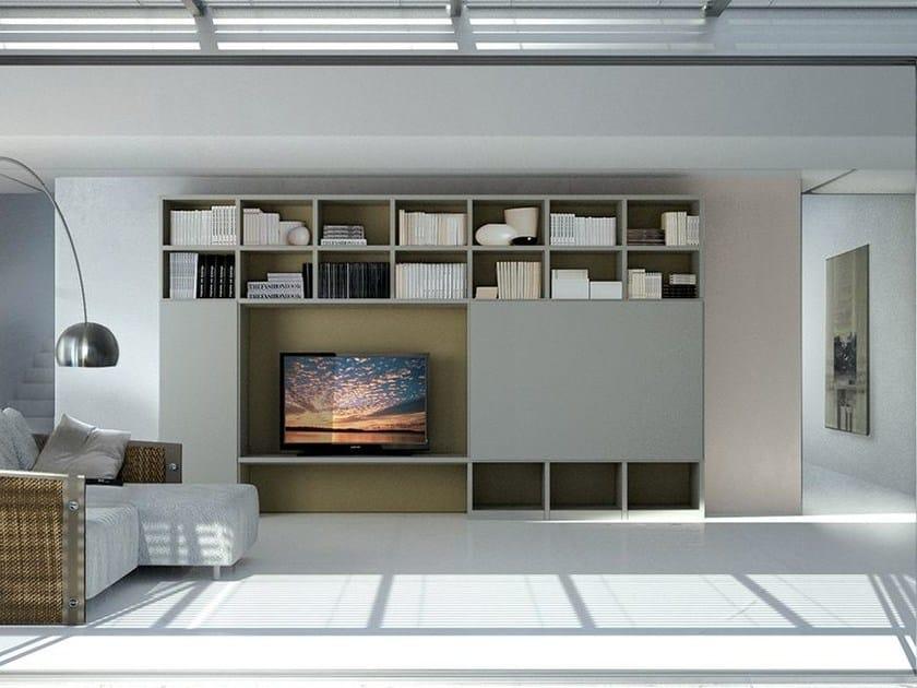 Storage wall LALTROGIORNO 867 by TUMIDEI