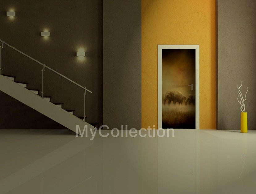 Door sticker ELEFANTI by MyCollection.it