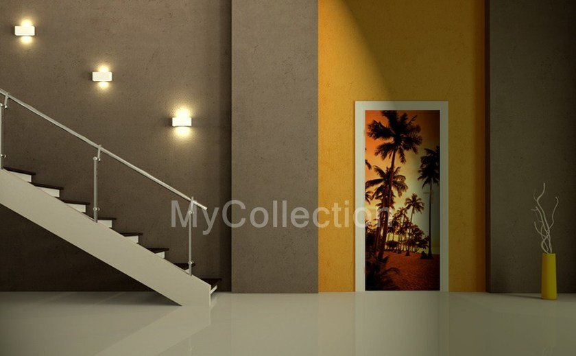 Door sticker SUNSET by MyCollection.it