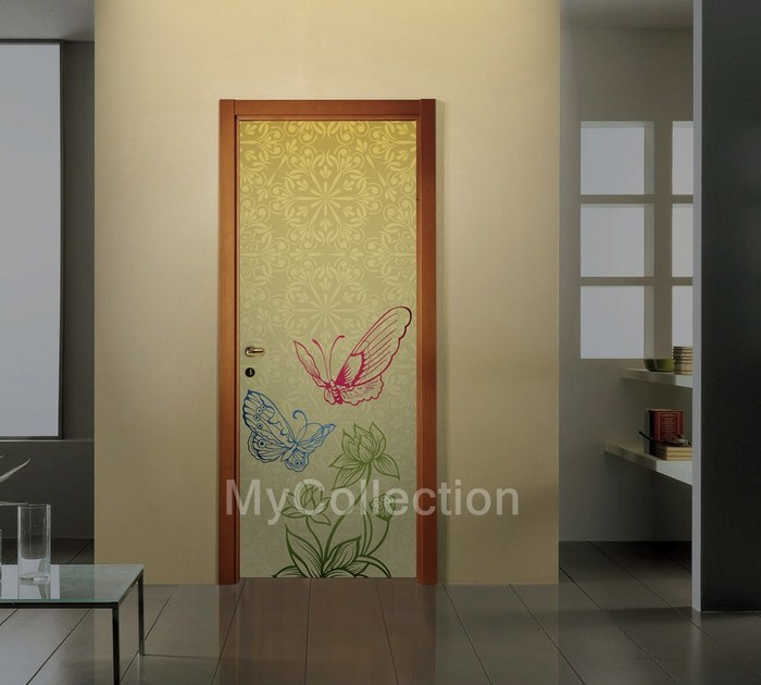 Door sticker GOLDEN by MyCollection.it