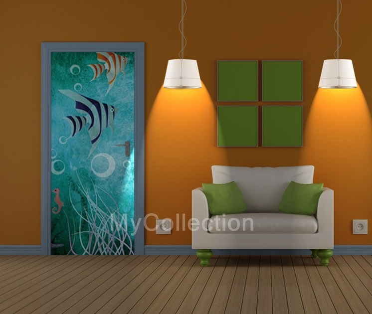 Door sticker Acquatic by MyCollection.it