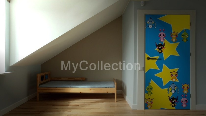 Door sticker Alieni by MyCollection.it