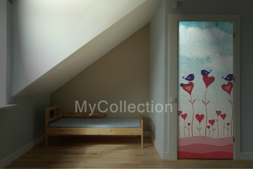 Door sticker HEART by MyCollection.it