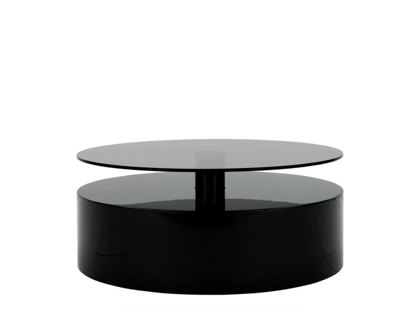 Low lacquered coffee table PARRISH by Minotti