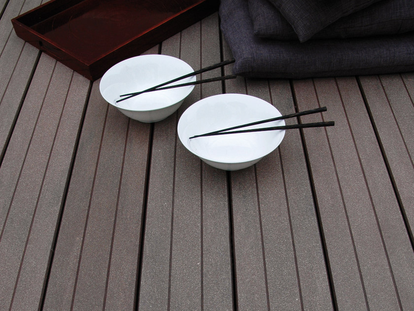 WPC decking STRIPE MACAO by MYDECK®