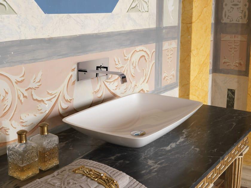 Countertop rectangular single washbasin WASHBASINS | Countertop washbasin by newform
