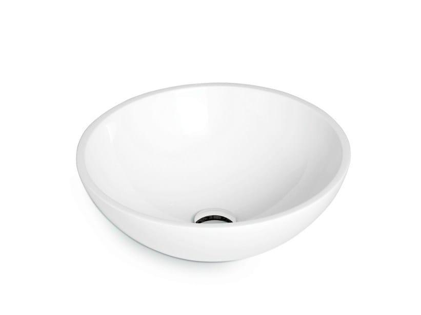 Countertop round Mineralmarmo® washbasin WASHBASINS | Washbasin by newform