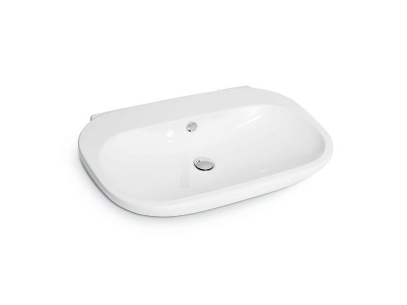 Countertop rectangular single washbasin WASHBASINS | Single washbasin by newform