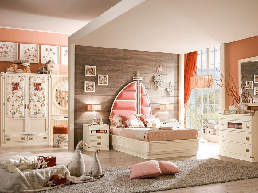 Solid wood bedroom set ARIEL | Bedroom set by Caroti