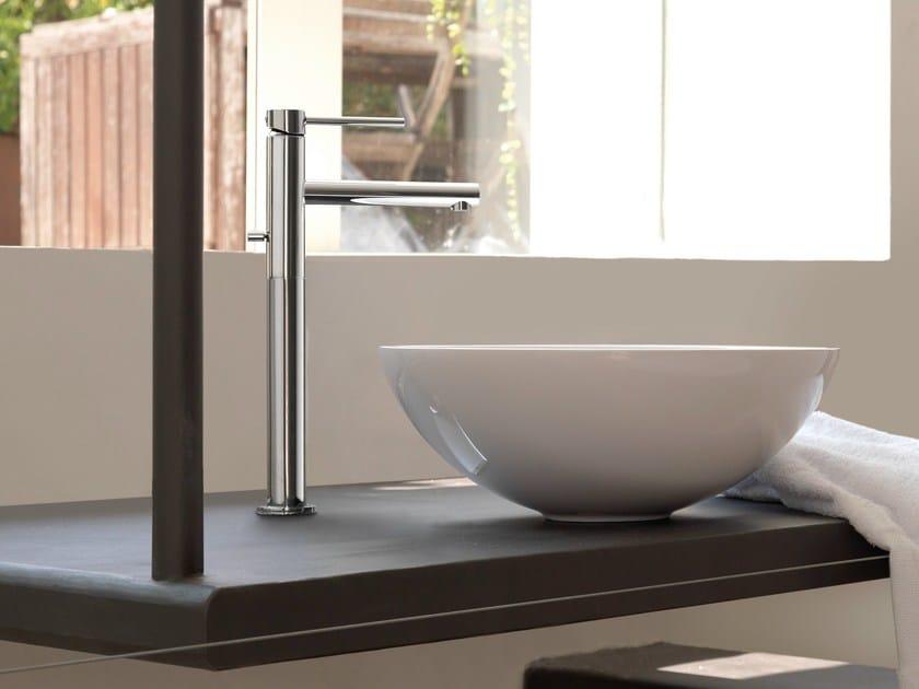 Miscelatore per lavabo da piano monocomando monoforo MINI-X | Miscelatore per lavabo monocomando by newform