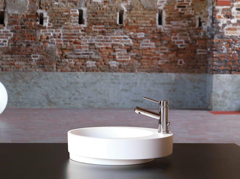Countertop single handle 1 hole washbasin mixer X-TREND | Washbasin mixer by newform