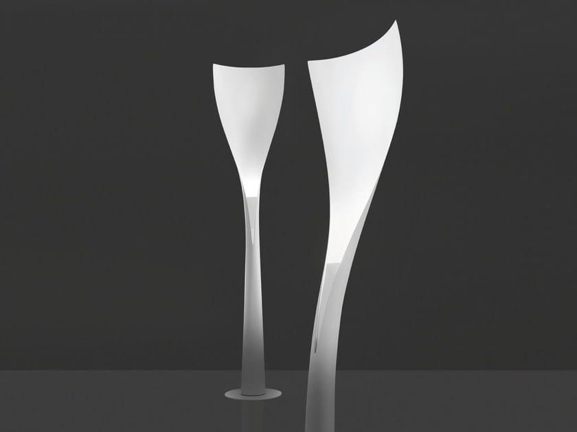LED glass-fibre floor lamp SOLIUM by Artemide