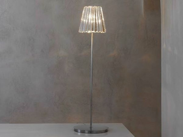 Indirect light glass floor lamp GLITTERS | Floor lamp by Lasvit