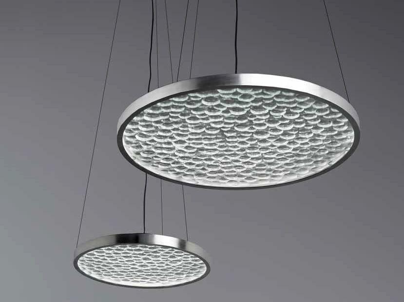 LED indirect light pendant lamp HYDROGENE by Lasvit